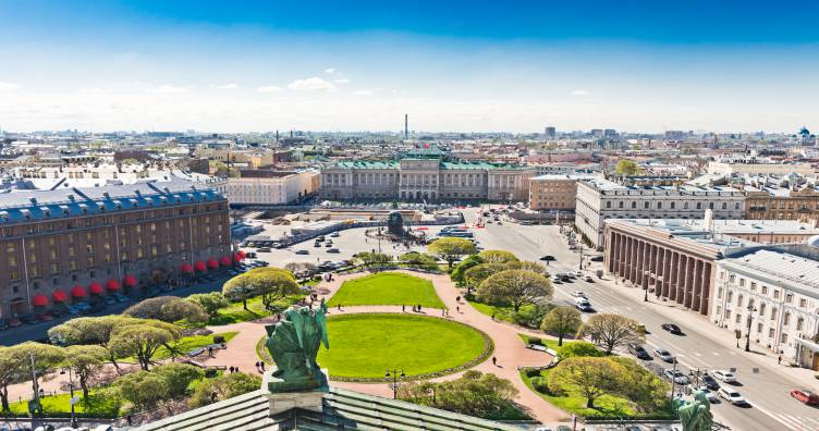 Hotels in St Petersburg
